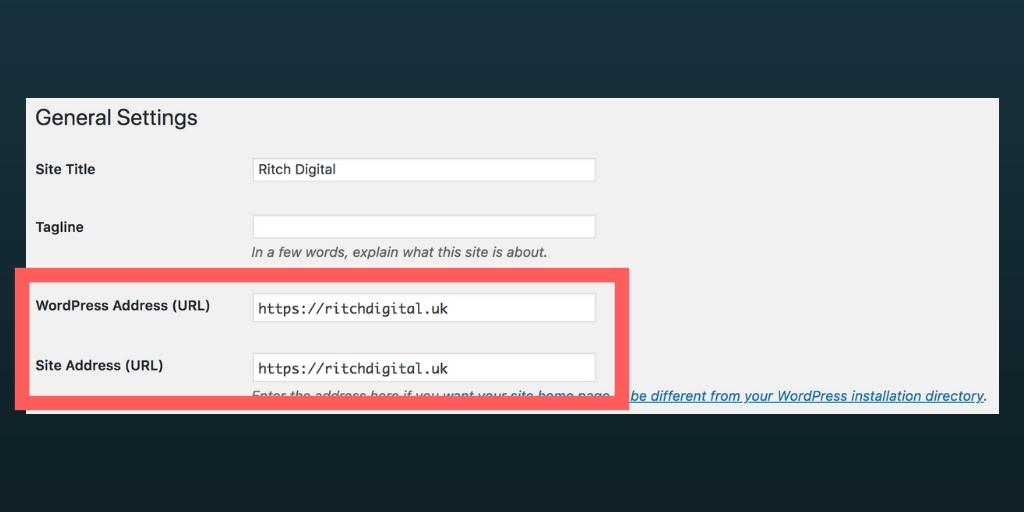 Wordpress URLs